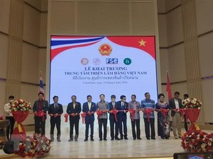 Vietnamese goods exhibition centre inaugurated in Thailand