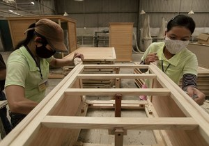 Viet Nam likely to gain export target for timber and wooden products this year: experts