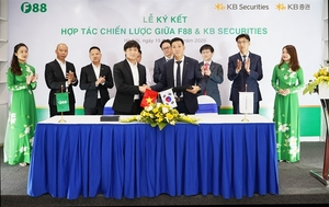 Strategic co-operation deal signed between F88 Business JSC, KB Securities and KB Securities Vietnam