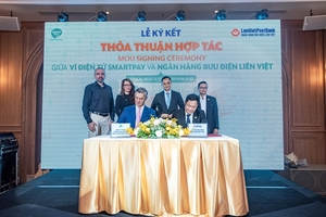 SmartNet, Lien Viet Post Bank tie up for remittance other services