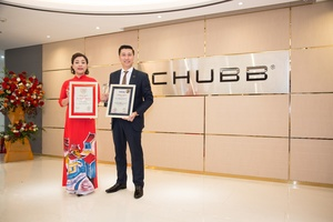 Chubb Life wins awards for 'Top 10 Most Reputable Insurance Companies' and 'Top 500 Fastest Growing Enterprises in Vietnam'