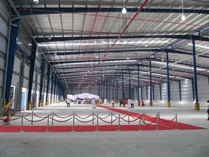 Central city green-lights ready-built factory project