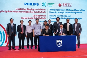 Philips and Buon Ma Thuot University sign multi-year strategic partnership agreement on new smart hospital