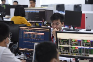 Shares make gains on large-cap stocks