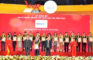 HDBank named among best companies in Viet Nam