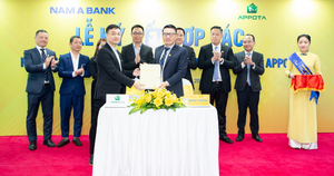 Nam A Bank co-operates with AppotaPay e-wallet