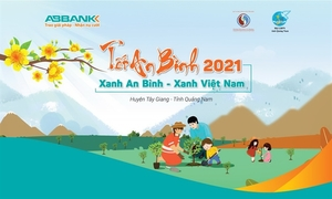ABBANK's annual Tet charity programme to give 11,000 trees to ethnic families in Quang Nam