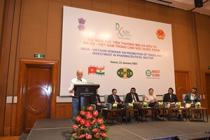 Vietnamese, Indian pharmaceutical enterprises have great opportunities in Viet Nam