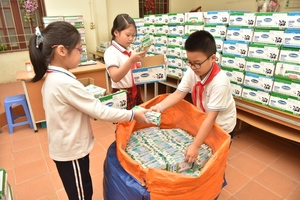 Programme collects 125 tonnes of used cartons in two months