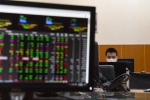 Shares continue rally on the back of blue-chip stocks