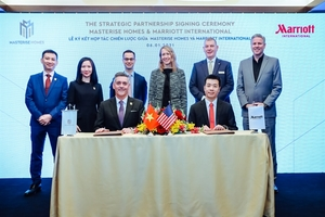 Masterise Homes, Marriott ink deal to bring world's largest branded residences to VN