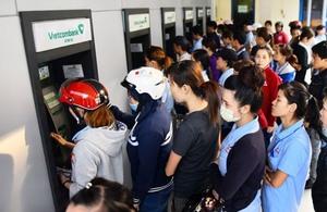 Banking system works to ensure cash supply forTet