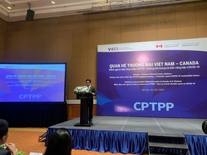Trade ties between VN and Canada develop due to CPTPP