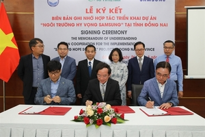 Samsung's fifth HOPE school to open in Dong Nai province