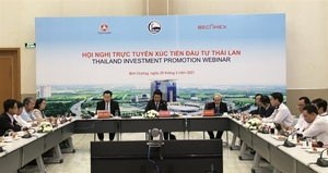 Binh Duong holds trade promotion event to attract Thai investors
