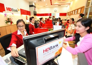 HDBank profits top $251.8m, income from services up by half