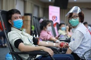 Samsung employees donatenearly 100,000 units of blood