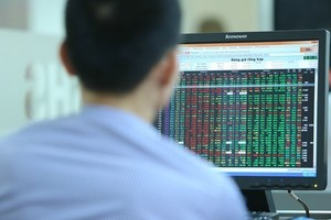 VN-Index gains nearly 8 points on bank and real estate stocks