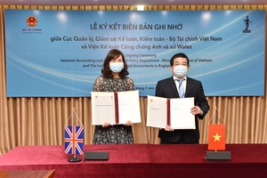 UK chartered accountants institute, finance ministry to improve Vietnam'saccounting standards