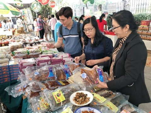 Tet specialities from all over the country available in HCM City