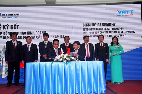 Vietnamese, Japanese firms partner to build smart city