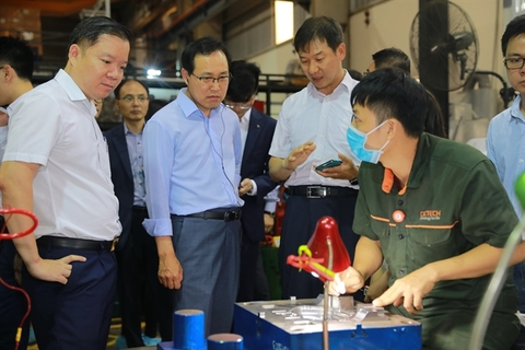 Vietnamese firms join consultation programme
