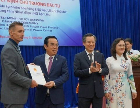 Bac Lieu approves $4b LNG-fired thermal power plant