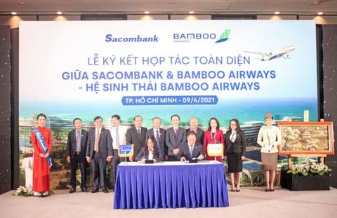 Sacombank, Bamboo Airways in strategic tie-up