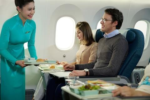 Vietnam Airlines предлагает повысить класс обслуживания по привлекательной цене
